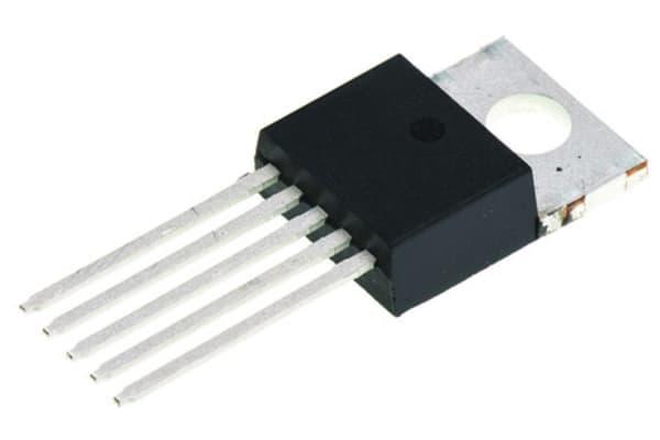Product image for Stepdown Voltage Regulator 5V 1A TO220-5
