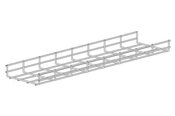 Product image for Wire basket tray 60X150mm