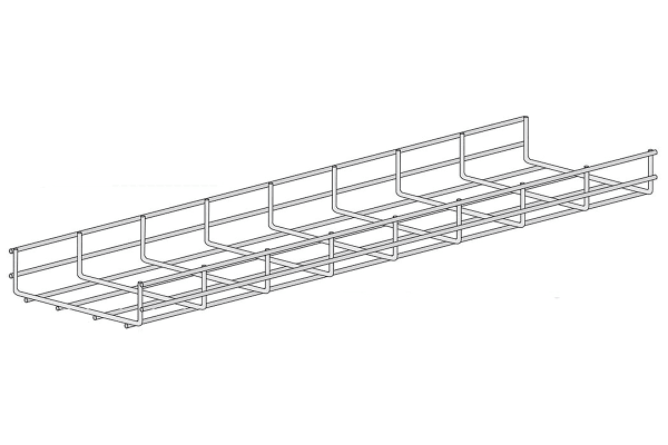 Product image for Wire basket tray 60X200mm