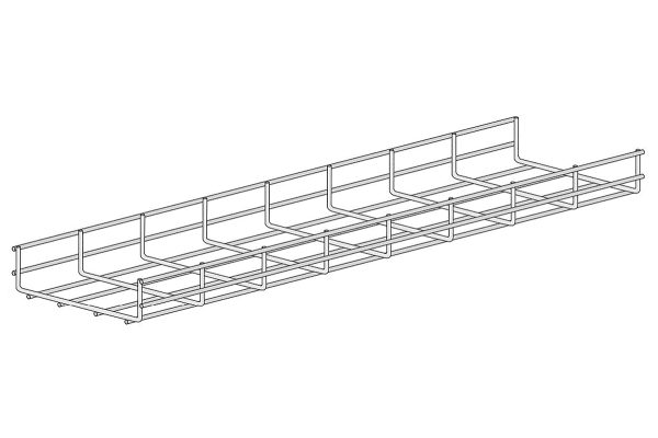 Product image for Wire basket tray 60X300mm