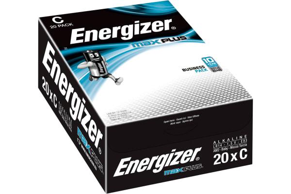 Product image for ENERGIZER ALKALINE MAX PLUS C 20PK
