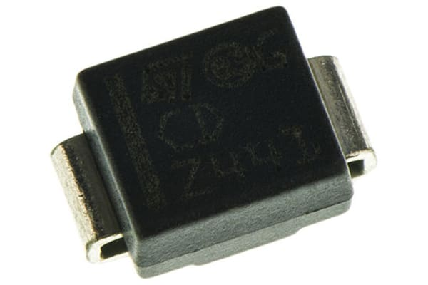 Product image for 400W TVS TRANSIL 6V UNIDIRECTINAL SMA