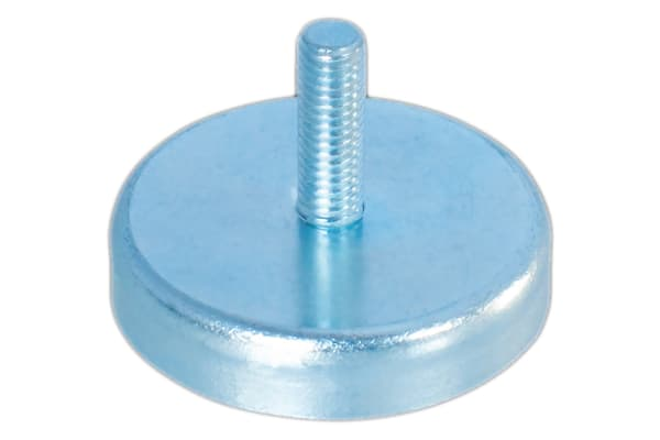 Product image for 22MM FERRITE SHALLOW POT, MALE THREAD