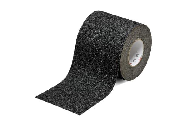 Product image for Black Coarse Anti-Slip Tape,25mm x 20m