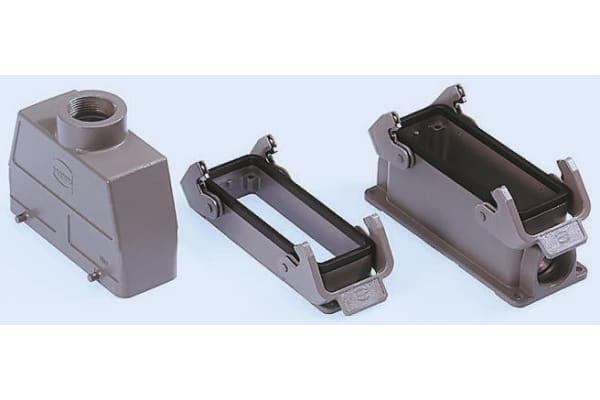 Product image for Han B 1930 Series size 24 B Top Entry Connector Hood