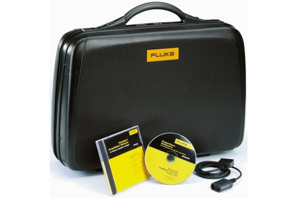 Product image for Fluke,Accessory Kit Case, OC4USB Cable, Software,For Use With 190 Series, 215C Series, 225C Series SCC190