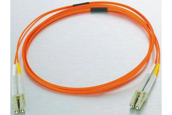 Product image for LC-LC patchlead OM1 Duplex Orange 3m