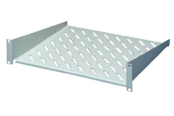 """Product image for 19"""" X 2U X 400 D CANTILEVER SHELF - GREY"""