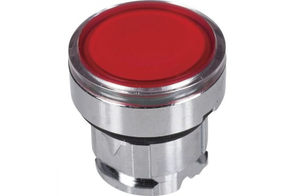 Product image for 22mm illuminated push button head red