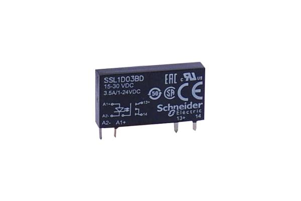 Product image for 1 PH SSR 24VDC 3.5A 24V