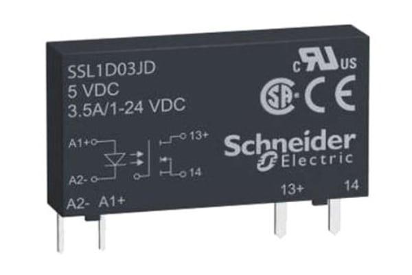 Product image for 1 PH SSR 24VDC 3.5A 12V