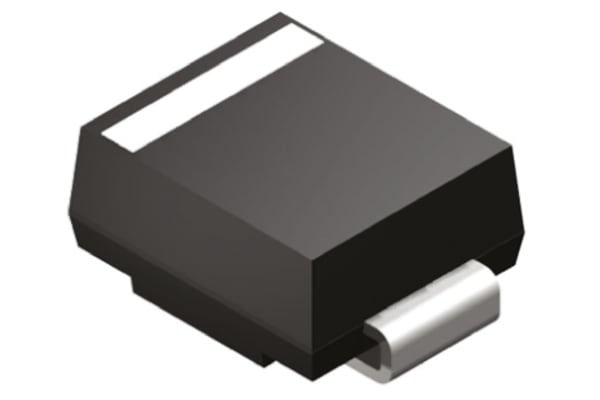 Product image for DIODE TVS  UNIDIR 70V 600W 2PIN SMB