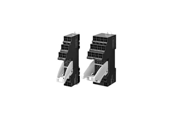 Product image for Socket,  31mm, 8-pin, Push-in terminals