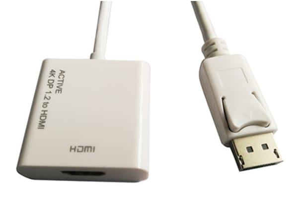 Product image for ROLINE CABLEADAPTER 4K DP-HDMI M/F ACT