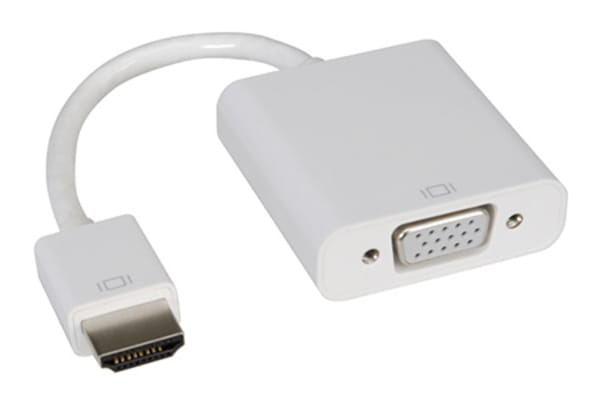 Product image for Roline AV Adapter, Male HDMI to Female VGA