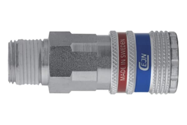 Product image for 3/8 BSPT FEMALE, VENTED E-SAFE COUPLING
