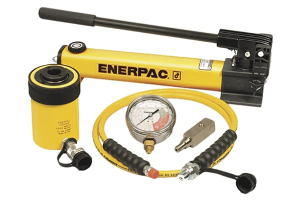 Product image for Enerpac Single, Portable Portable Hydraulic Cylinder - Lifting Type, SCH202H, 20t, 49mm stroke