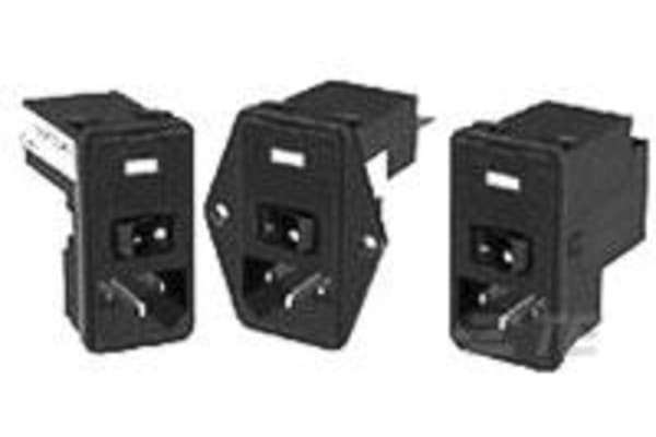 Product image for Power Ent Module Filter 10A 120V P serie