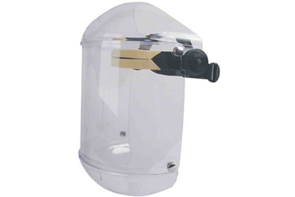 Product image for BLACK POLYCARBONATE 8IN FACE SHIELD