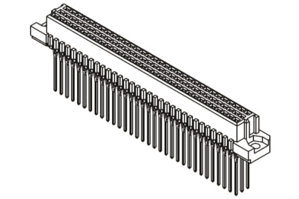 Product image for CONNECTOR DIN-SIGNAL PRESS-IN 96-WAY F