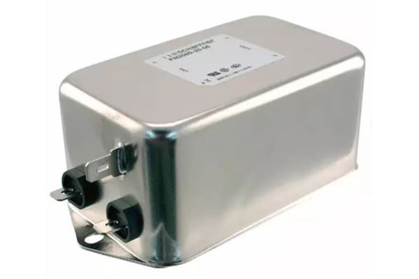 Product image for 2-STAGE GENERAL EMI FILTER 1-PHASE 20A