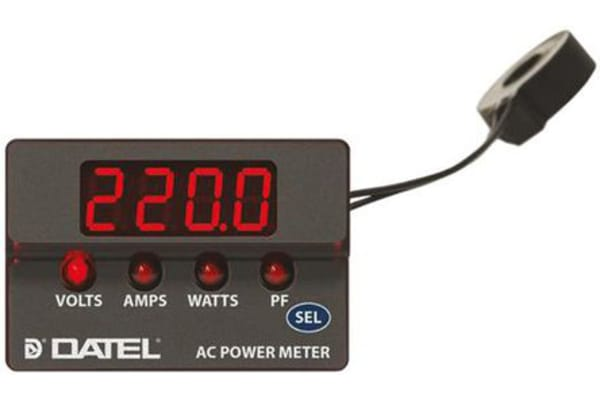 Product image for AC Power Meter-30A, Power Factor