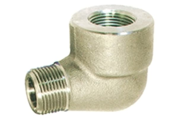Product image for 1/4in F/Steel 316 90Street Elbow Joint