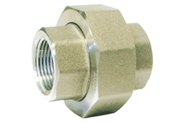 Product image for 1 1/2in F/Steel 316 Union F/F Joint