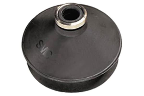 Product image for Vacuum Pad, 20mm Dia, Bellows type, NBR