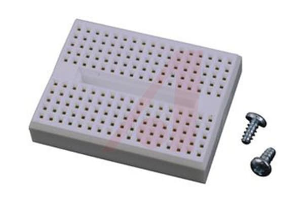 Product image for PLASTIC BREADBOARD 140 TIE POINT