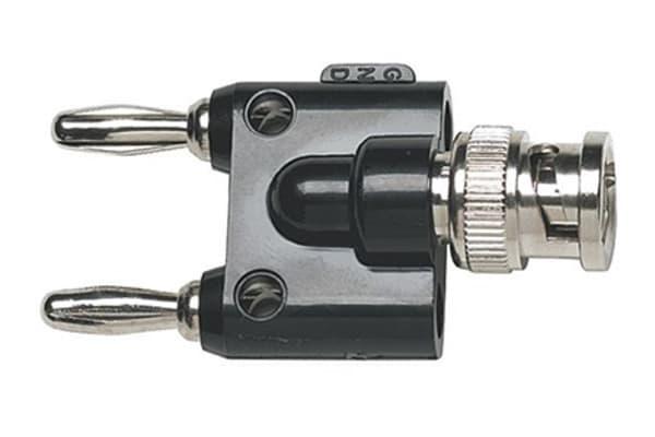 Product image for BP881 BNC to Male Double Banana Plug