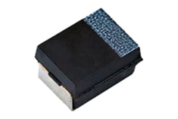 Product image for Cap Tantalum Polymer T55 100uF 6.3V 3216