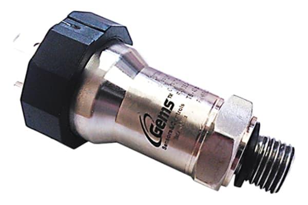 Product image for Gems Sensors Pressure Sensor for Air, Gas, Water , 1bar Max Pressure Reading Current
