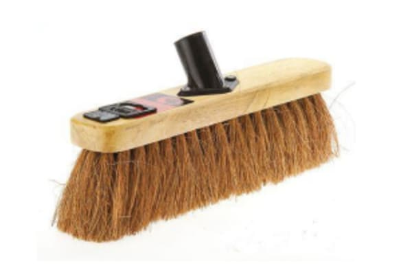 Product image for 12IN SOFT NATURAL COCO BROOM