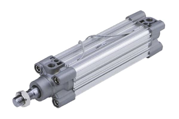 Product image for ISO Cylinder w/Air Cushion, 50 x 125mm