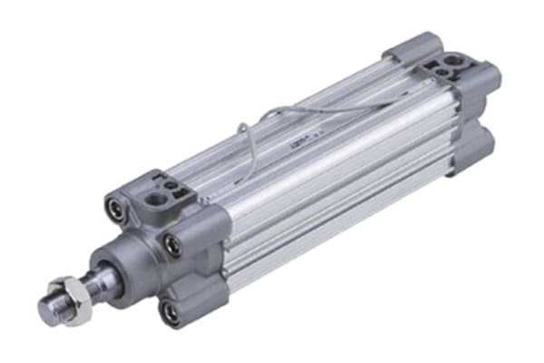 Product image for ISO Cylinder w/Air Cushion, 50 x 80mm