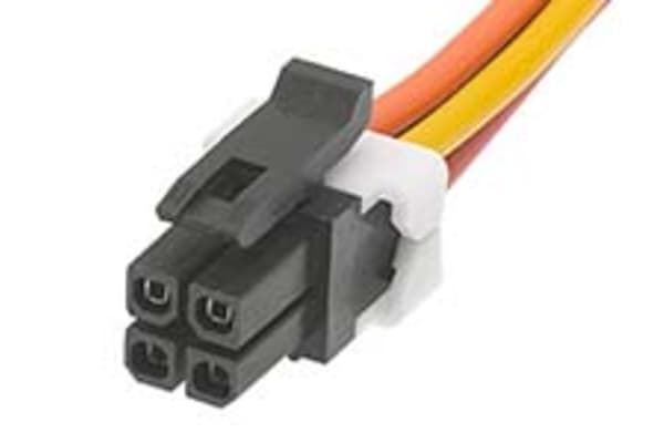 Product image for MICRO-FIT CABLE ASSEMBLY, 4P, 150MM