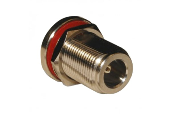 Product image for ADAPTER N JACK TO SMA JACK BULKHEAD