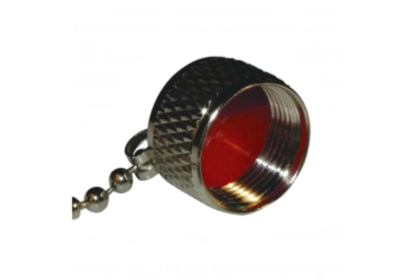 Product image for N CAP FOR FEMALE CONNECTOR, WITH CHAIN