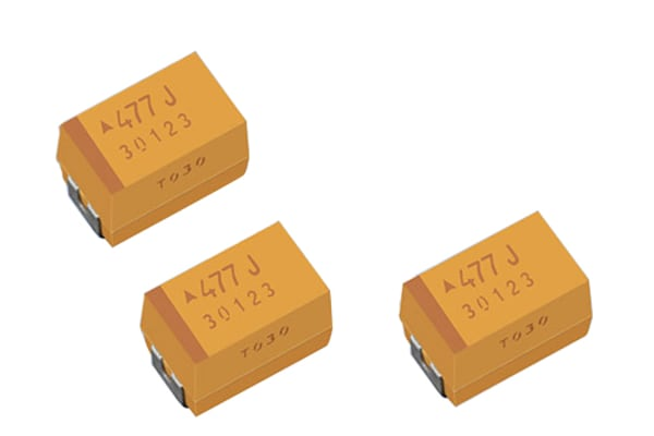 Product image for CAPACITOR 2917 22UF 10% 50VDC 75 MOHMS