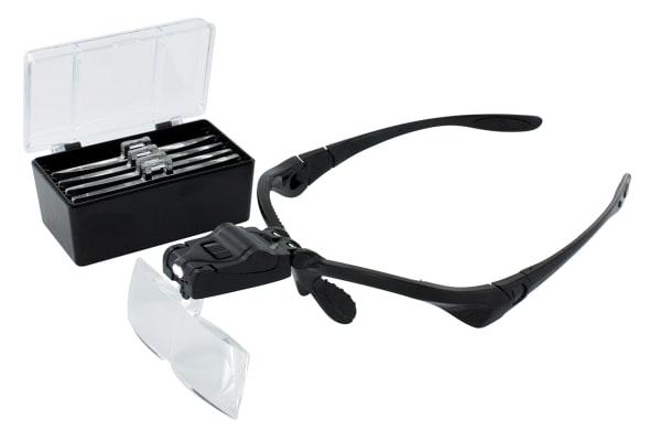 Product image for LED Magnifier Set & 5 Lenses