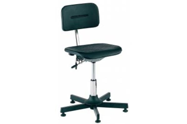 Product image for Bott Plastic Desk Chair 120kg Weight Capacity Black