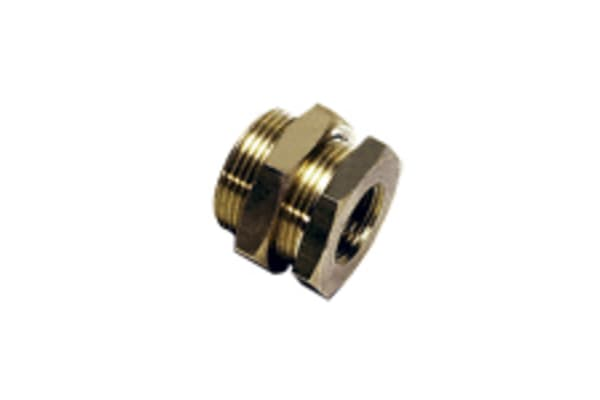 "Product image for Female Bulkhead Fitting 3/8"" BSPP"
