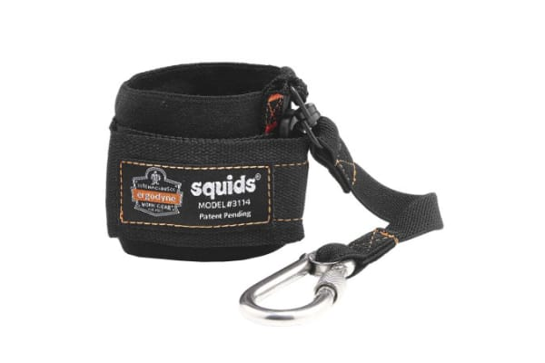 Product image for PULL-ON WRIST LANYARD WITH CARABINER
