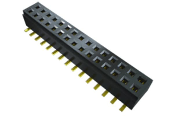 Product image for 1.00MM CLM TIGER CLAW SMT SOCKET, 10P