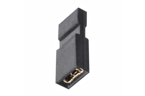 Product image for ARCHER M50 1.27MM JUMPER SOCKET, BLACK
