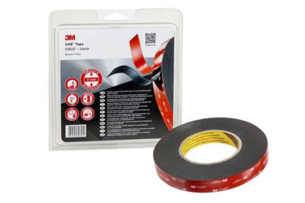 Product image for 3M VHB Tape 5952F 19mm  x 11m
