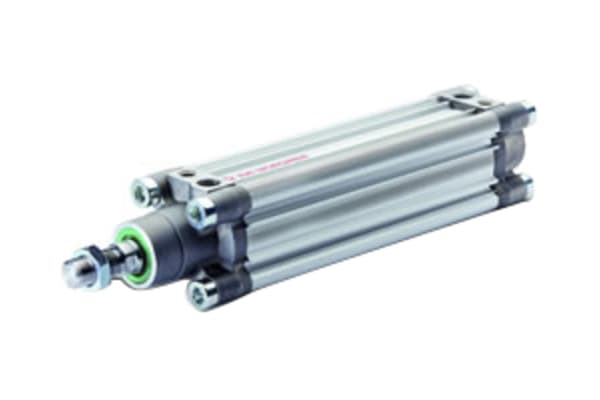 Product image for IMI Norgren Pneumatic Profile Cylinder 63mm Bore, 50mm Stroke, PRA/802000/M Series, Double Acting