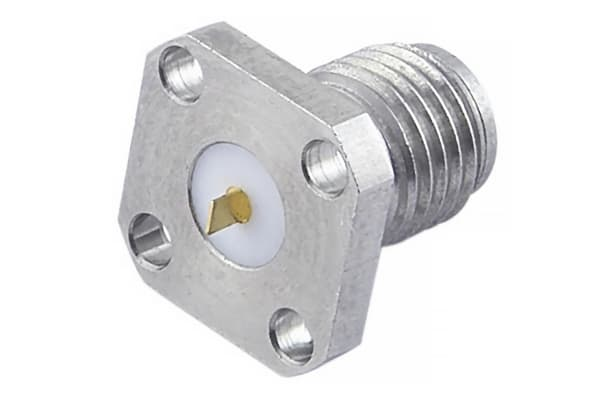 Product image for SMA 27G Flange Mount Jack(Tab Contact)