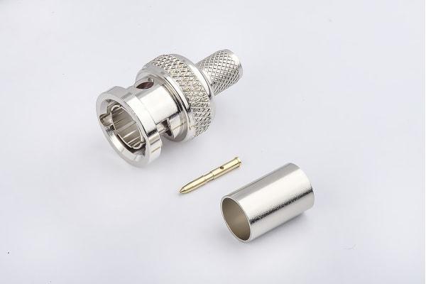 Product image for 6G_75ohm- BNC Straight Plug Crimp
